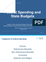 How State and Federal Spending Work Together