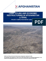 Afghanistan Land Title Ltera