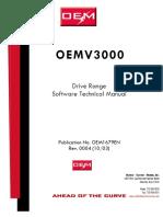 Drive Data Warning Code Mv3000