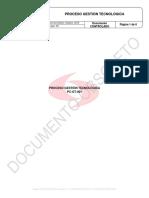 Pc-gt-001 Proceso Gestión Tecnológica v03