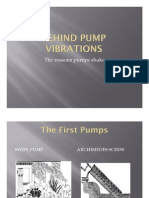 Behind Pump Vibrations