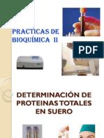 8. DETERMINACIÓN DE PROTEINAS TOTALES EN SUERO