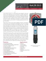Carbon Monoxide DM-100-CO PDS