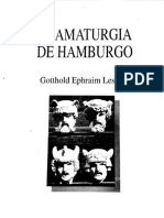 Dramaturgia de Hamburgo (1a parte), de G.E. Lessing