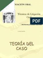 Técnicas de Litigación Oral Completo - Dr. Neyra Flores