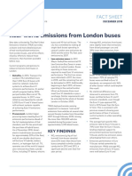 Real-world emissions from London buses