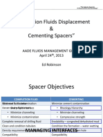 Completion Fluids Displacement and Cementing Spacers