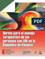 Normas Manejo TX VIH PAN