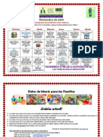 PB Parent Resource Calendar Nov 2010 Spanish Version
