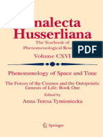 Analecta Husserliana 116 - Phenomenology of Space and Time_ The Forces of the Cosmos and the Ontopoietic Genesis of Life I.pdf