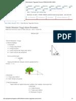 Teknik Menaksir Tinggi Dalam Pramuka _ PRAMUKA PGSD UNNES