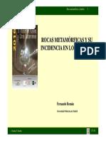 ROCAS METAMÓRFICAS EN TÚNELES