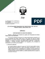 PL Equilibrio Financiero 2019