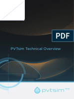 Pvtsim Technical Overview 2017