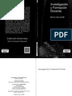 Achilli - Investigacion y Formacion Docente CAP 1