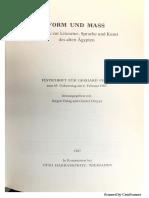Assmann. Hierotaxis. Textkonstitution und Bildkomposition in der altägyptischen Kunst und Literatur.