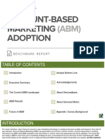 ABM Adoption Benchmark Report