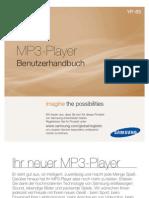 [Handbuch] Samsung YP-S5