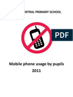 Mobile Policy Pupils