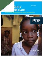 UNICEF Los Ninos y Ninas de Haiti Un Ano Despues(1)