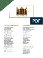 Letras Villancicos