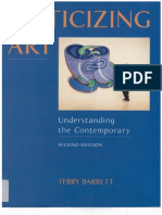 Terry Barrett - Criticizing Art_ Understanding the Contemporary (1999, Mayfield Pub. Co.)