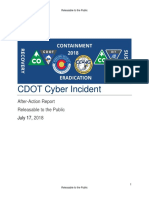 CDOT Cyber Incident AAR Final Public