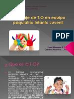 ROL T.O PSIQUIATRÍA INFANTO JUVENIL