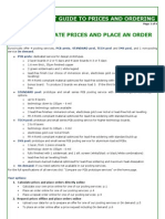 PCB Ordering Guide and Price EC Fast Guide ENGLISH 4 2010 V1
