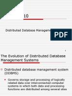 10-DistributedDatabases.ppt
