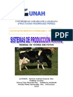 Produccion animal