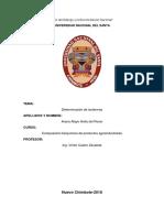 Informe-Determinación de Isotérmicos