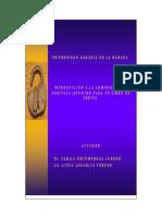 Introduccion a La Administracion Agropecuaria (Apuntes Para Un Libro de Texto)