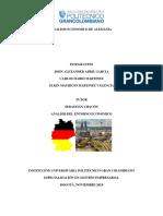 Analisis Economico de Alemania Trabajo Poli