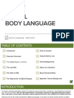 Digital Body Language Benchmark Report