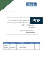 PR-SG-04_Identificación y Evaluación de Requisitos Legales y Otros Requisitos