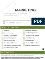 Event Marketing Benchmark Report