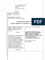 Supplemental Brief Re Motion to Dismiss 12-17-18