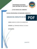 Analisis de Conflictos Condorhuain