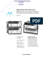 hp agilent frequency counter