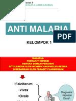 Antimalaria Farmasi Magister Unusa