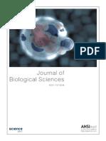 Journal of Bioogical Sciences