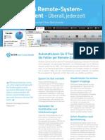 NTR Service Desk - Produktübersicht