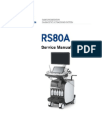 Samsung RS80A Ultrasound - Service Manual