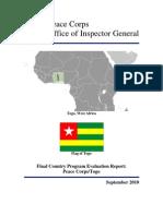Peace Corps Togo Final Program Evaluation