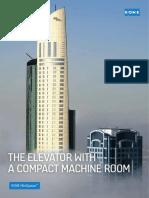Brochure Kone Elevator Minispace