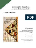 Chevallard - la trnaposición didáctica.pdf
