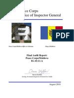 Peace Corps  Moldova Final Audit Report