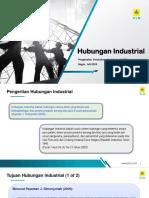 Presentasi Hubungan Industrial Prajabatan_Juli 2018