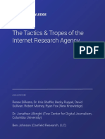 New Knowledge - The Tactics & Tropes of the Internet Research Agency